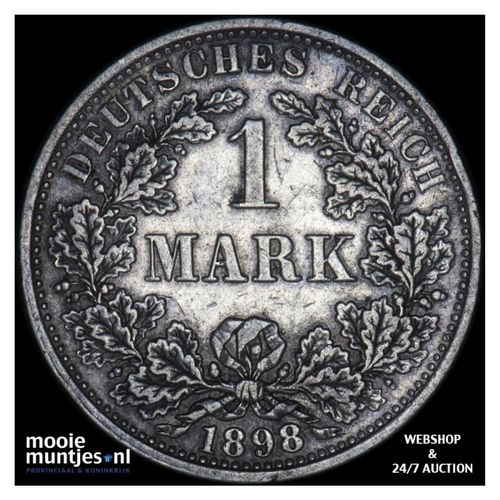 mark - Germany 1898 A (KM 14) (kant A)