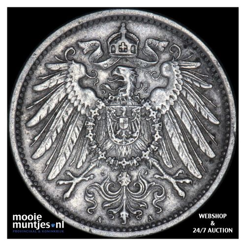 mark - Germany 1898 A (KM 14) (kant B)