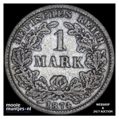 mark - Germany 1874 F (KM 14) (kant A)