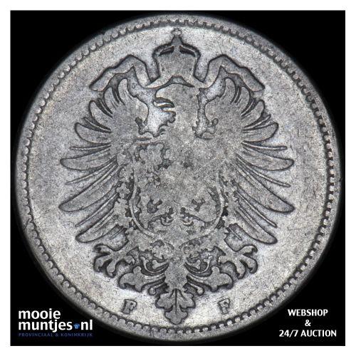 mark - Germany 1874 F (KM 14) (kant B)