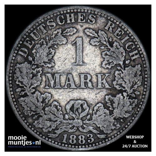 mark - Germany 1883 A (KM 14) (kant A)