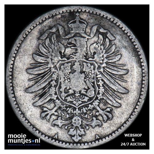 mark - Germany 1883 A (KM 14) (kant B)