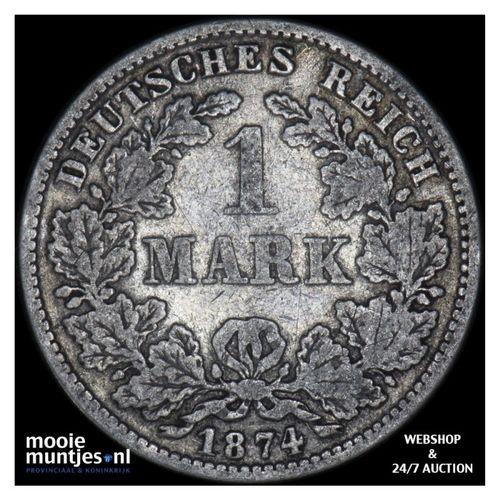 mark - Germany 1874 E (KM 14) (kant A)