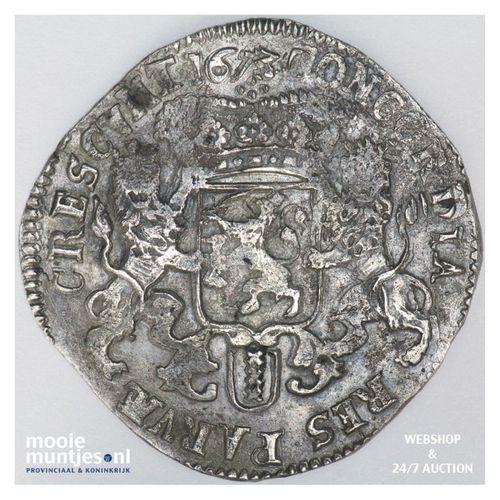 Amsterdam - Zilveren rijder of dukaton - 1673 (kant A)