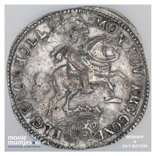 Amsterdam - Zilveren rijder of dukaton - 1673 (kant B)