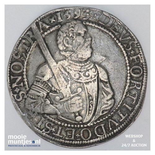 West-Friesland - Gehelmde rijksdaalder of Prinsendaalder - 1593 (kant A)