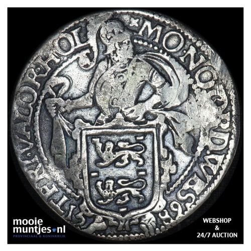 Friesland - Leeuwendaalder - 1589 (kant A)