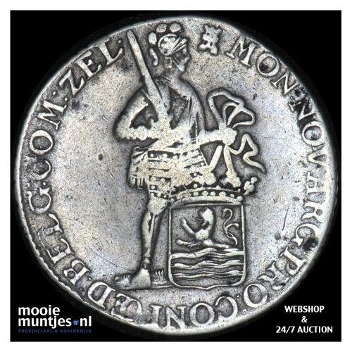 Zeeland - Zilveren dukaat - 1787 (kant B)