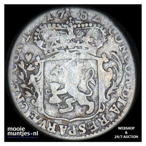 Zeeland - Zilveren dukaat - 1782 (kant A)