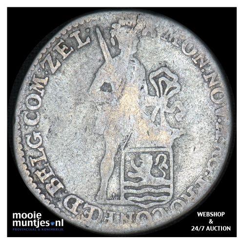 Zeeland - Zilveren dukaat - 1782 (kant B)