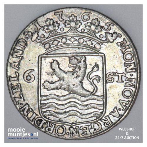 Zeeland - Scheepjesschelling - 1765 (kant A)