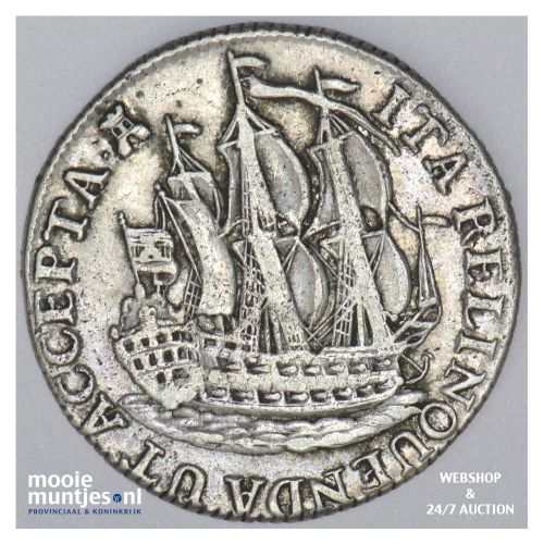 Zeeland - Scheepjesschelling - 1774 (kant B)