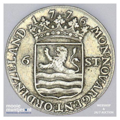 Zeeland - Scheepjesschelling - 1776 (kant A)