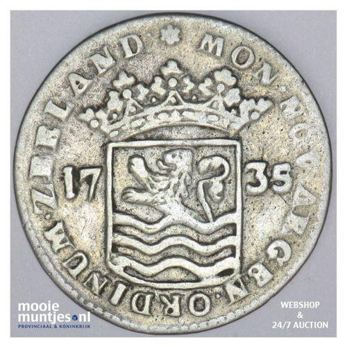 Zeeland - Snaphaanschelling - 1735 over 34 (kant A)