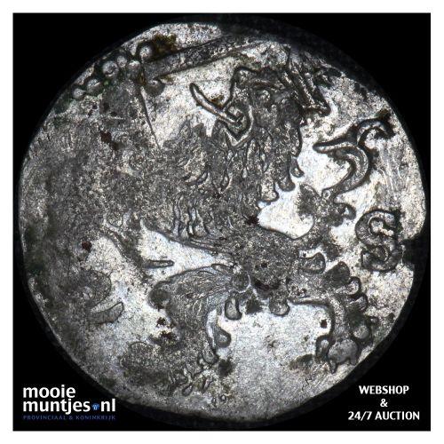 Zeeland - Dubbele stuiver - 1625 (kant B)