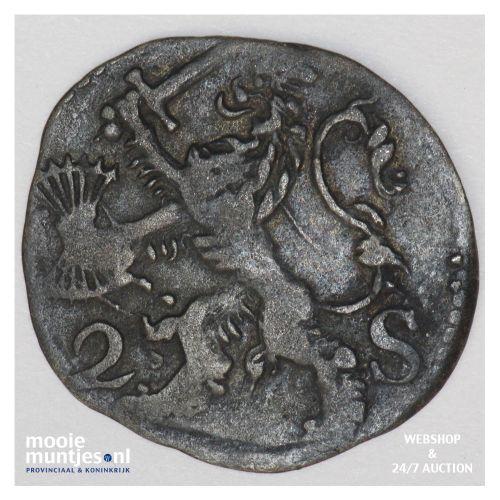 Zeeland - Dubbele stuiver - 1669 (kant B)