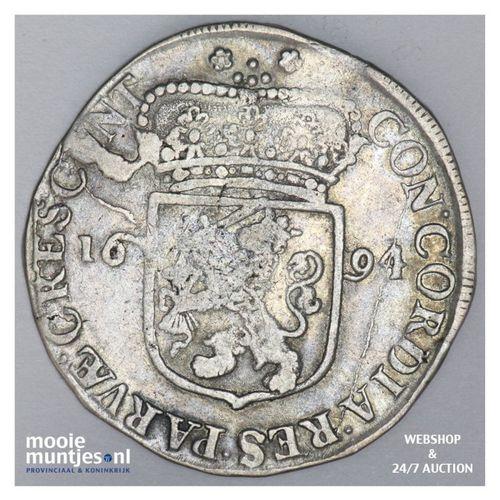 Zeeland - Zilveren dukaat - 1694 (kant A)