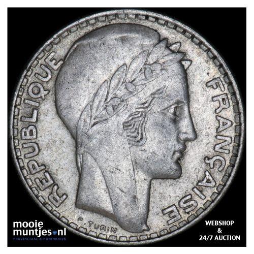 20 francs - France 1929 (KM 879) (kant B)