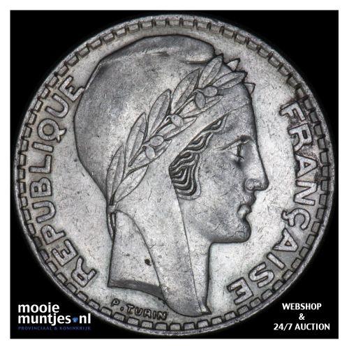 20 francs - France 1938 (KM 879) (kant B)