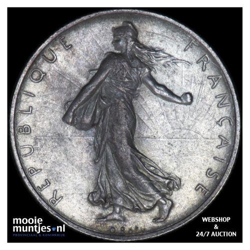 2 francs - France 1915 (KM 845.1) (kant B)