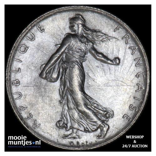 2 francs - France 1916 (KM 845.1) (kant B)