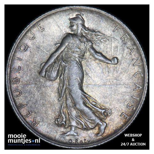 2 francs - France 1917 (KM 845.1) (kant B)