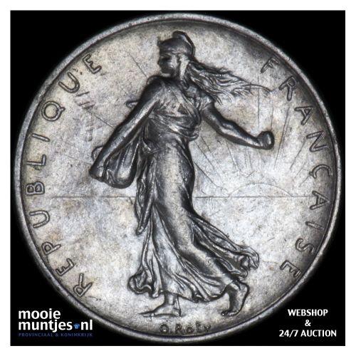 2 francs - France 1918 (KM 845.1) (kant B)