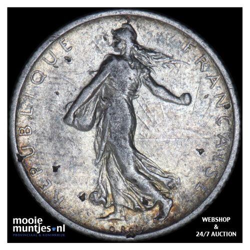 franc - France 1905 (KM 844.1) (kant B)