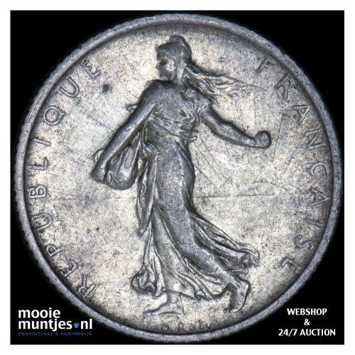 franc - France 1906 (KM 844.1) (kant B)