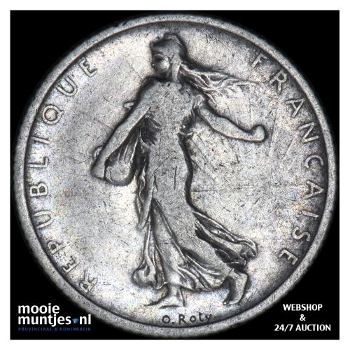 franc - France 1904 (KM 844.1) (kant B)