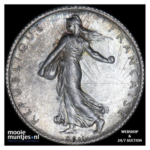 franc - France 1920 (KM 844.1) (kant B)