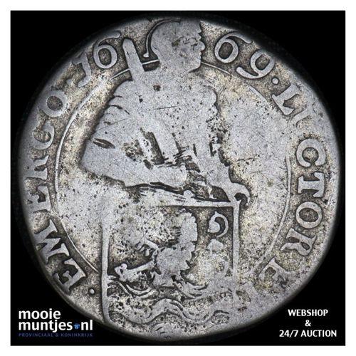 Zeeland - Snaphaanschelling - 1669 (kant A)