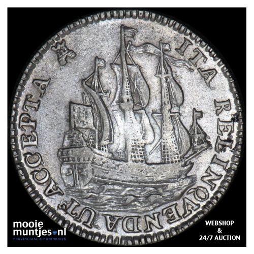 Zeeland - Scheepjesschelling - 1753 (kant B)