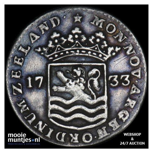 Zeeland - Hoedjesschelling - 1733 (kant A)