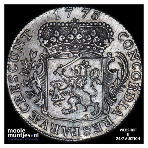 Zeeland - Kwart dukaat  - 1775 (kant A)