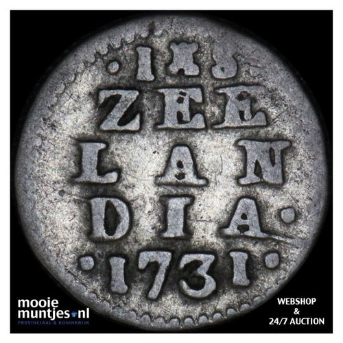 Zeeland - Stuiver - 1731 (kant A)