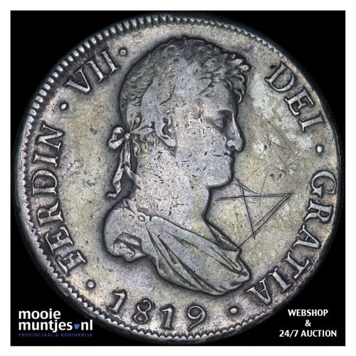 8 reales - colonial - Bolivia 1819 (KM 84) (kant A)