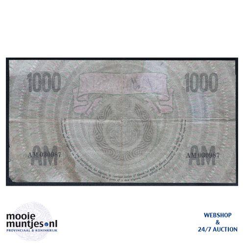 1000 gulden  - 1926 (Mev. 152-1 / AV 106A) (kant B)