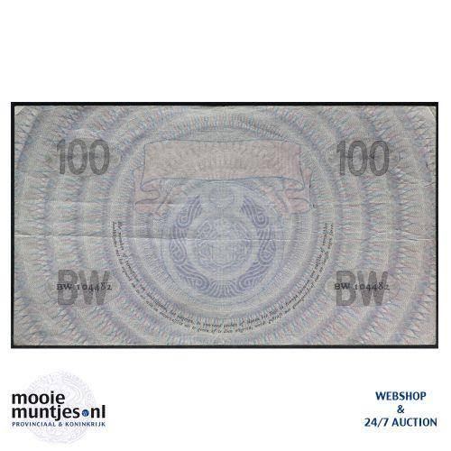 100 gulden - 1921 (Mev. 116-3b / AV 80) (kant B)