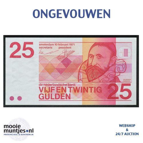 25 gulden - 1971 (Mev. 84-2 / AV 56) (kant A)