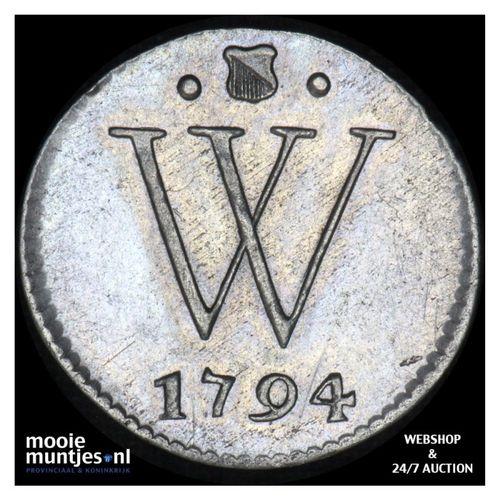 Nederlands West-Indië - 2 Stuiver - 1794 (kant A)