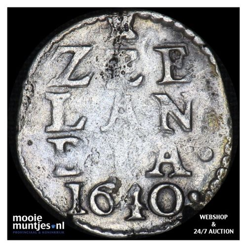 Zeeland - Dubbele stuiver - 1640 (kant A)