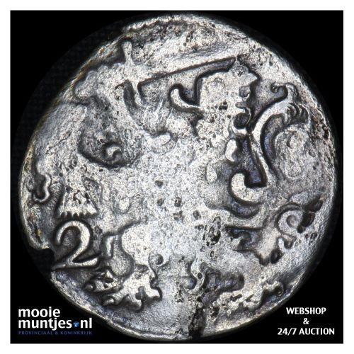 Zeeland - Dubbele stuiver - 1640 (kant B)