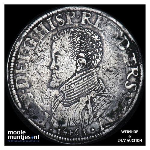 Overijssel - Philipsdaalder - 1563 (kant A)