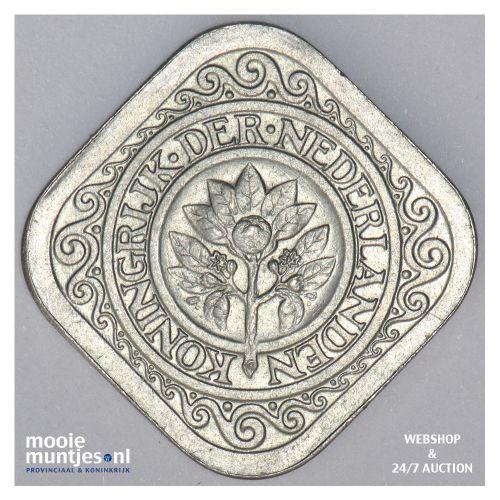 5 cent - Wilhelmina - 1913 (kant B)