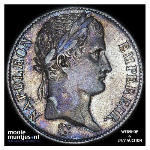 5 francs - France 1808 A (Paris) (KM 686.1) (kant B)