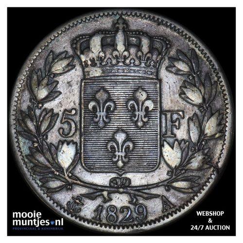 5 francs - France 1829 A (Paris) (KM 728.1) (kant A)