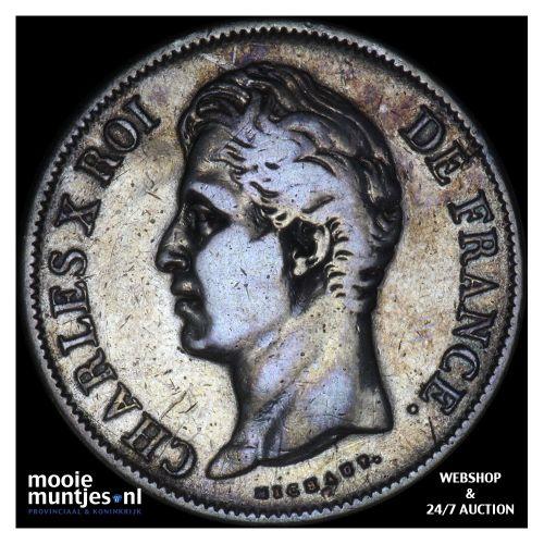 5 francs - France 1829 A (Paris) (KM 728.1) (kant B)