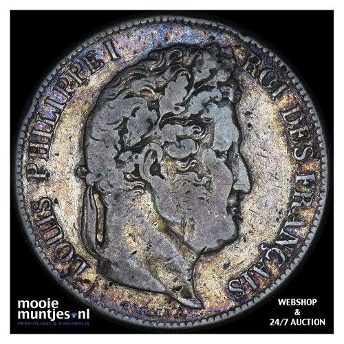 5 francs - France 1835 A (Paris) (KM 749.1) (kant B)
