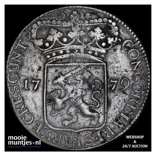 Zeeland - Zilveren dukaat - 1779 (kant A)